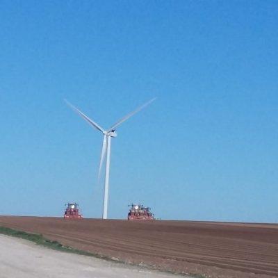 éolienne à la ferme
